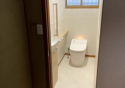中間市 U邸 トイレ